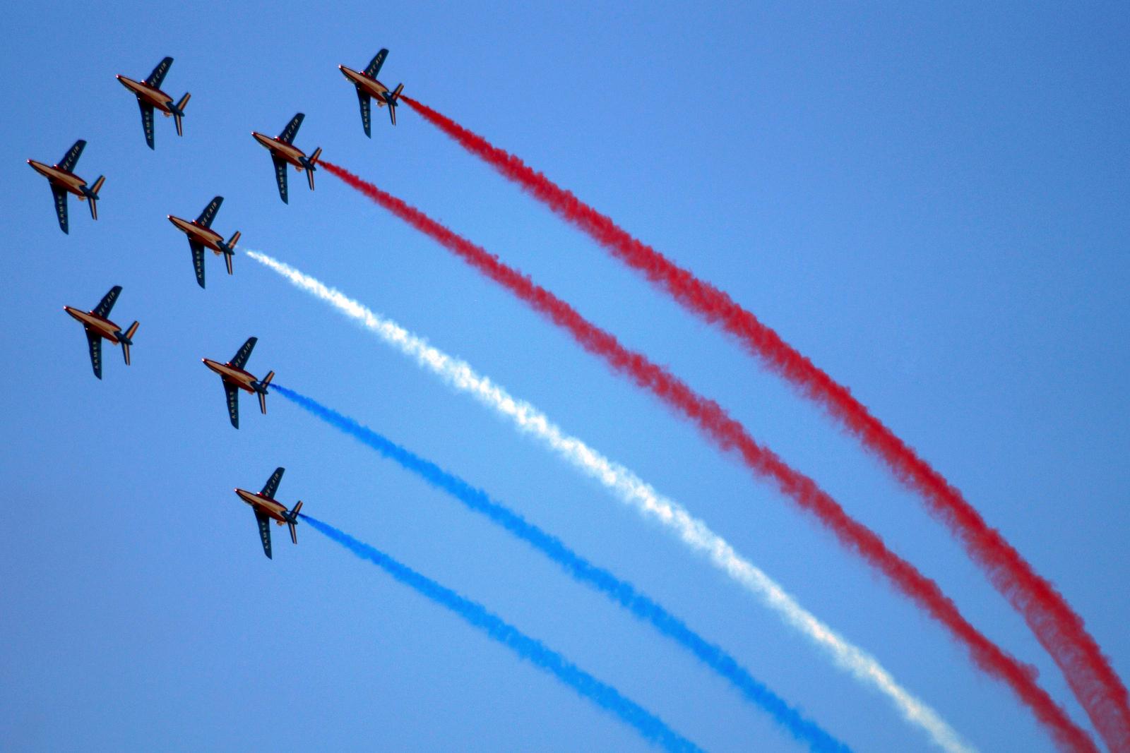 La Patrouille de France à Mainfonds